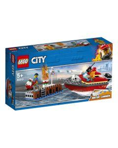 LEGO City Incendiu la docuri 60213