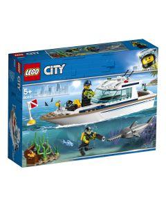 LEGO City Iaht - scufundari 60221