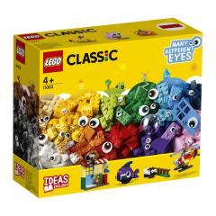 LEGO Classic - Caramizi si ochi