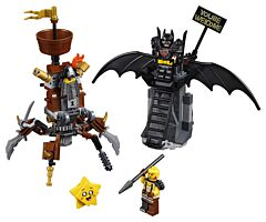 LEGO Movie Batman&Barba metal
