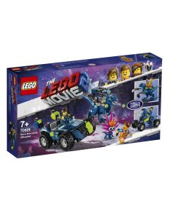 LEGO Movie Masina lui Rex 70826