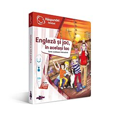 "Carte ""Engleza si joc in acealsi loc"""