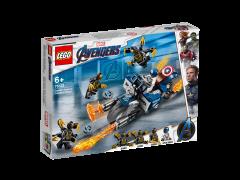 LEGO Avengers - Captain America: Atacul Outriderilor 76123