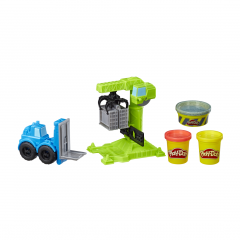 Set Play-Doh Wheels - Macara si stivuitor