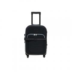 Troler XL EVA cu 4 roti, negru
