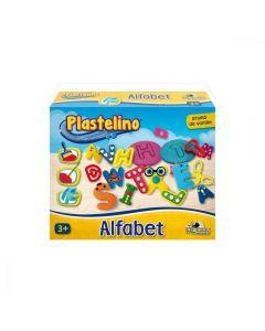Alfabet din plastilina, Plastelino