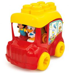 Set de cuburi moi, autobuz, Mickey Mouse, Clemmy