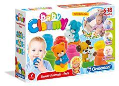 Set de joaca si carticica cu animalute, Clemmy