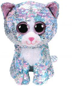 Jucarie plus Ty Pisica albastra 15 cm