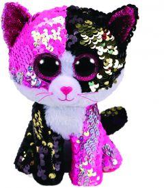 Jucarie plus Ty Pisica roz 15 cm