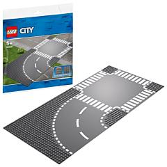LEGO City - Curba si intersectie 60237