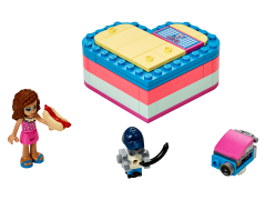 LEGO Friends - Cutia de vara in forma de inima a Oliviei 41387
