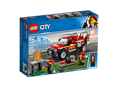 LEGO City - Camionul de interventie al comandantului pompierilor 60231