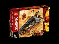 LEGO Ninjago - Motocicleta de teren a lui Cole 70672