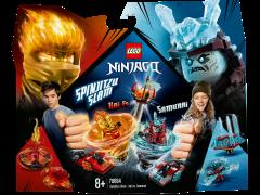 LEGO Ninjago - Slam Spinjitzu - Kai contra Samurai 70684