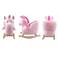 Balansoar din plus in forma de unicorn 60 cm
