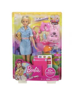 Papusa Barbie, Barbie Travel