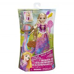 Papusa Rapunzel cu accesorii pentru par