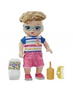 """Bebe """"Primii pasi"""" baietel Baby Alive, blond"""