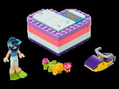 LEGO Friends - Cutia de vara in forma de inima a Emmei 41385
