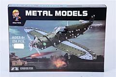 Avion asamblare metalica 258 piese, Piccolino