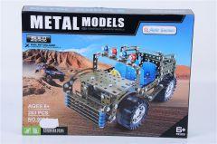 Masina militara asamblare metalica 283 piese, Piccolino