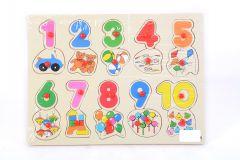 Puzzle lemn cifre, Piccolino