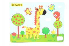 Puzzle lemn girafa, Piccolino
