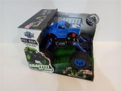 Super masina Grafitty Off-Road albastru, Piccolino