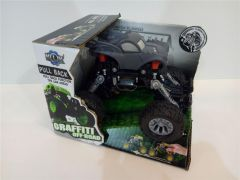Super masina Grafitty Off-Road gri, Piccolino