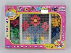 Joc mozaic plastic casute, Piccolino
