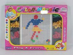 Puzzle cu pioneze fotbal, Piccolino
