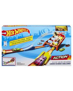 Hot Wheels Action - Lanseaza si intoarce