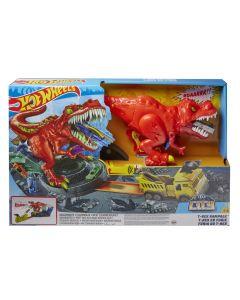 Set joaca T-Rex, Hot Wheels City