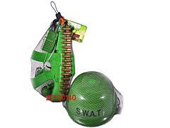 Set Casca Cu Accesorii Swat