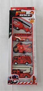 Set 5 Vehicule Pompieri