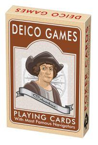 Carti de joc - Navigatori celebri