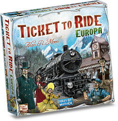 Joc de societate Ticket to Ride - Europa