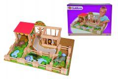 Gradina zoologica din lemn