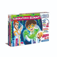 Laboratorul Slimmy - Stiinta & joaca, Clementoni