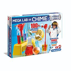 Mega Lab de chimie- Stiinta & joaca, Clementoni