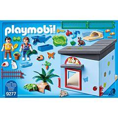 Jucarie Playmobil Pet Hotel - Crescatorie de iepurasi si hamsteri