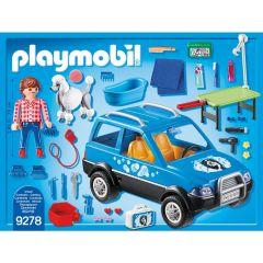 Jucarie Playmobil Pet Hotel - Salon mobil pentru ingrijire catei