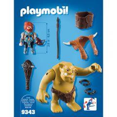 Jucarie Playmobil Dwarfs - Trol cu luptator pitic