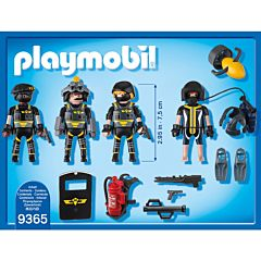 Jucarie Playmobil Tactical Police Unit - Echipa SWAT