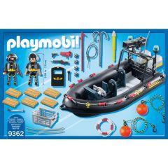 Jucarie Playmobil Tactical Police Unit - Barca echipei SWAT