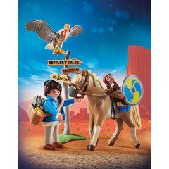 Jucarie Playmobil Movie - Marla cu cal