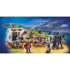 Jucarie Playmobil Movie - Charlie cu vagon