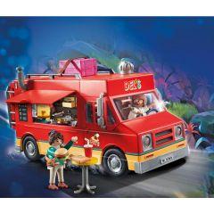 Jucarie Playmobil Movie - Camionul cu mancare al lui Del