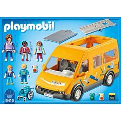 Jucarie Playmobil School - Masina scolara